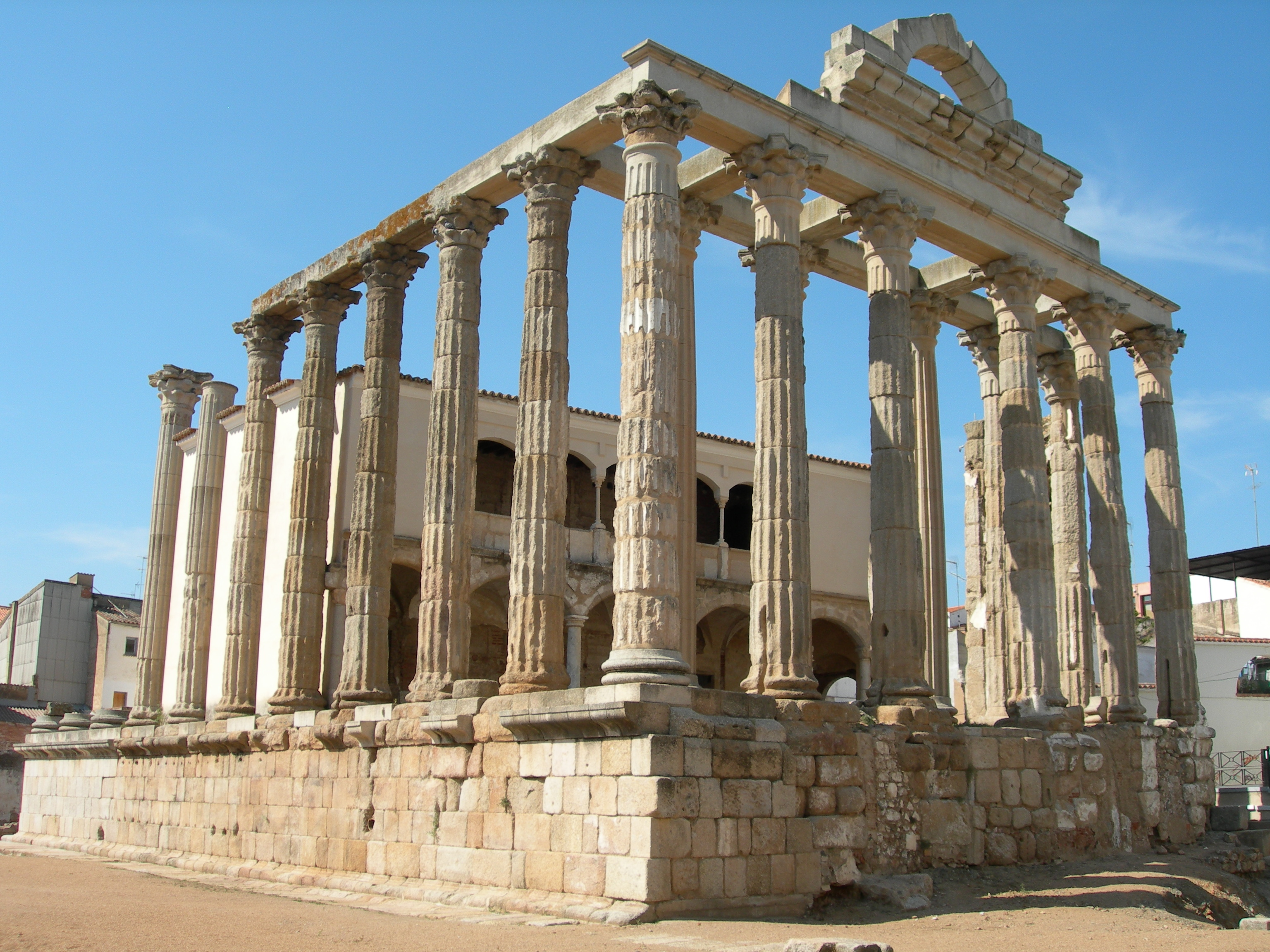 FIGURE 4. The Roman Temple of Diana at Mérida, Spain. Photo by Byron Hamann.
