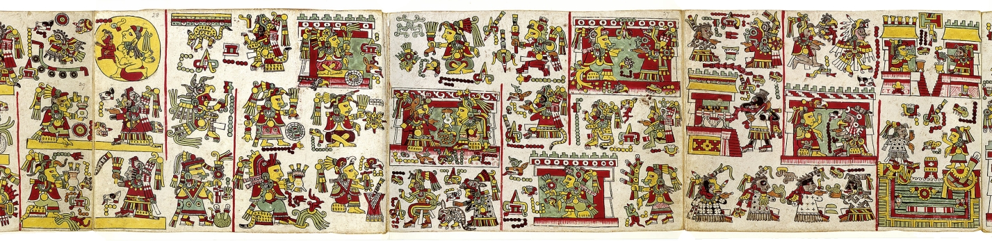 FIGURE 2. Pages 25 to 28 of the Codex Nuttall.