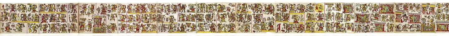 FIGURE 3. Pages 25 to 35 of the Codex Nuttall.