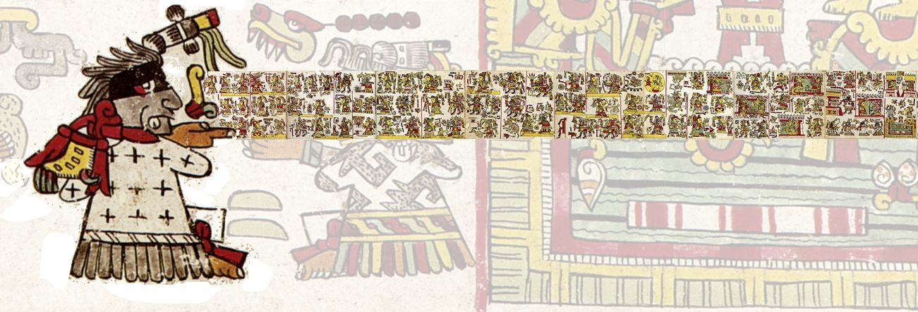 FIGURE 4. Scrolling song, scrolling images from the Codex Nuttall.