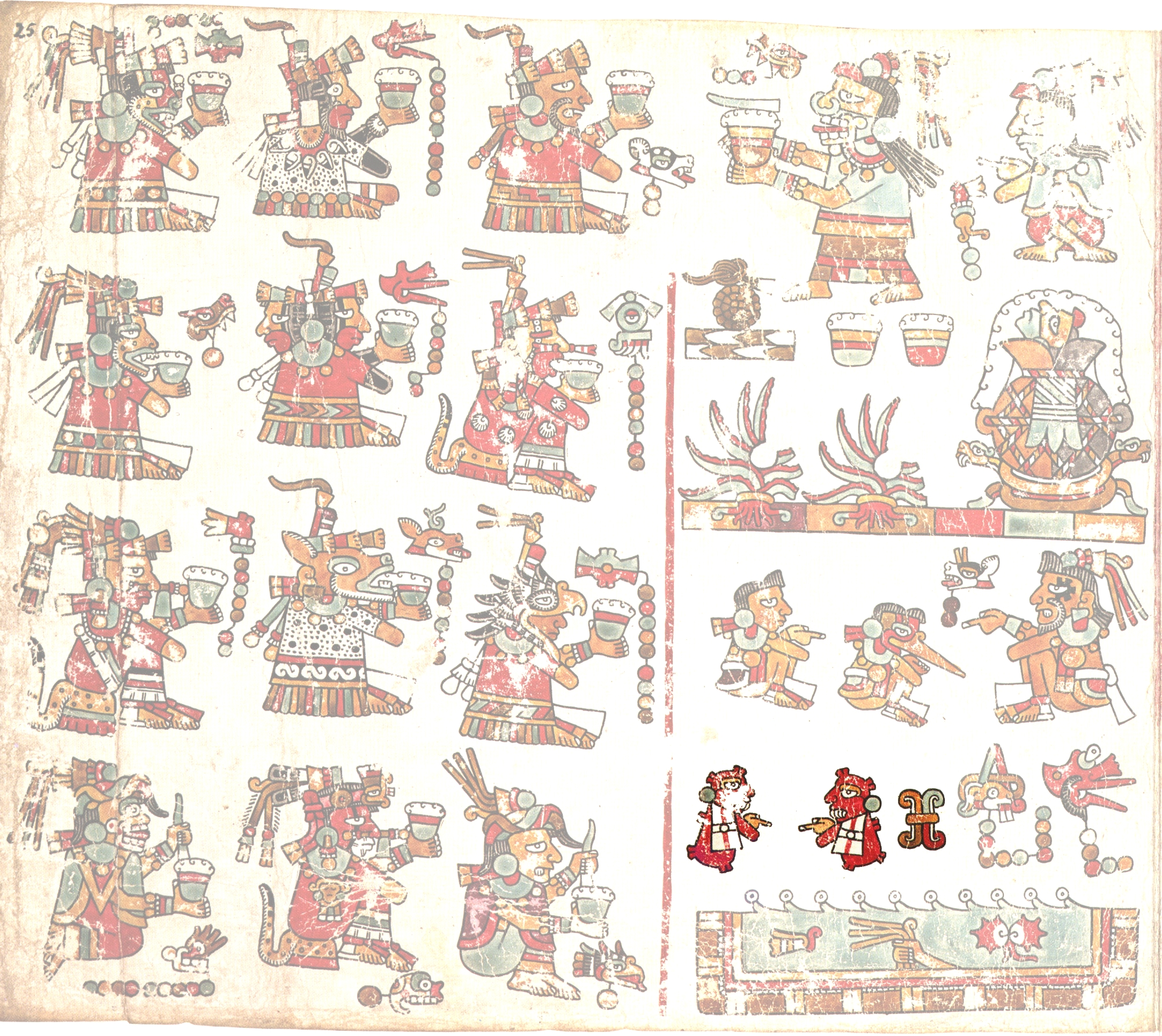 FIGURE 21. Page 25 of the Codex Vienna.