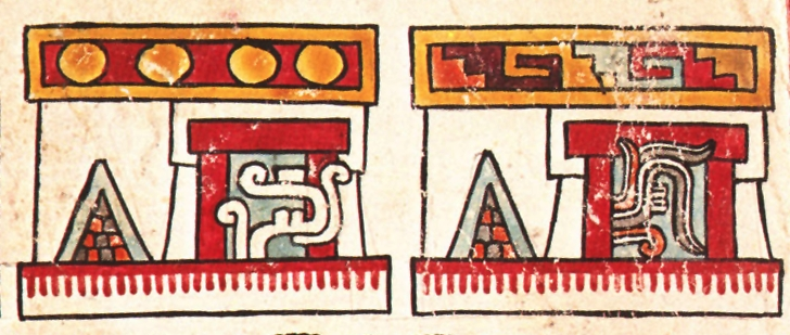 FIGURE 15. Sweatbaths, from page 15 of the Codex Vienna.