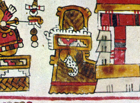 FIGURE 4. The place sign of A�ute, from page 5 of the Codex Selden.